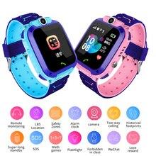 2019 New Smart watch for Children SOS Call Location Finder Locator Tracker Anti Lost Monitor LBS Kid Smartwatch Baby Watch+Box все цены
