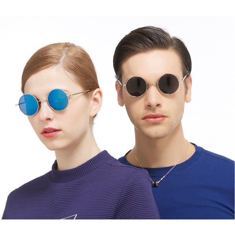 compra genuina mirada detallada nuevo estilo Lentes de Sol Redondas Vintage Retro John Lennon Unisex
