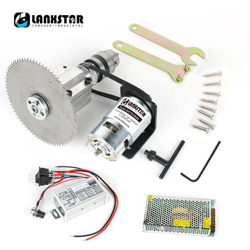 Miniature Small Table Saw DIY Woodworking Saws Multifunction 775 Motor 100MM Round Table Saw Blade Cutting