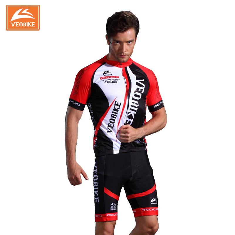 VEOBIKE Brand Short Sleeve Bicycle Cycling Jerseys Set Quick Dry Men's Cycling Clothing Summer Bike Sportswear Ropa Ciclismo malciklo team cycling jerseys women breathable quick dry ropa ciclismo short sleeve bike clothes cycling clothing sportswear