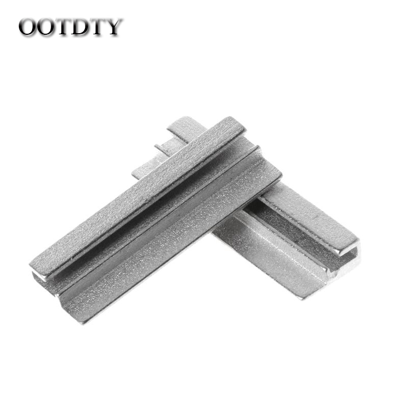 OOTDTY 2pcs Key Clamping Fixture Duplicating Cutting Machine For Key Copy Tool Set Hand Tools