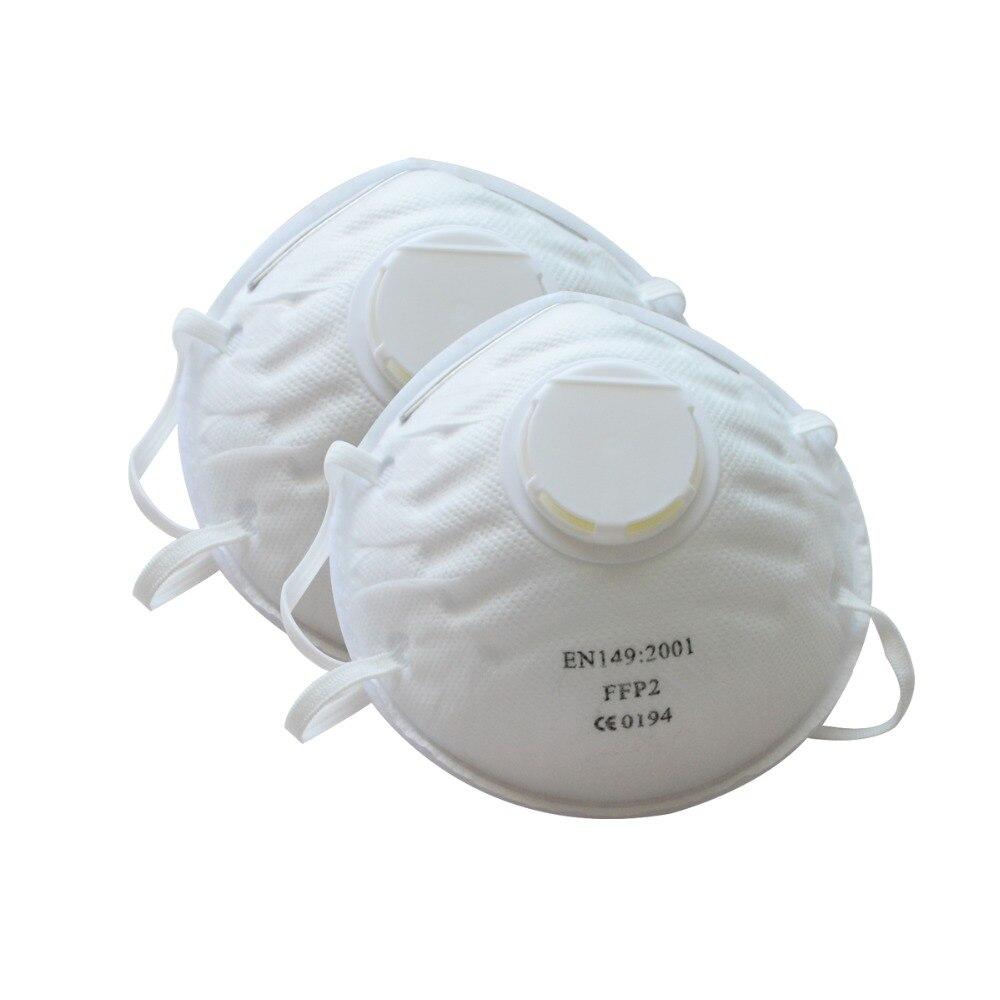 1 шт. Пылезащитная маска респиратор FFP2 уровень Анти туман PM2.5 защитная маска Пылезащитная кухонная Рабочая защитная маска - 3