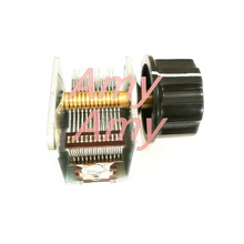 Fudan ยี่ห้อ SINGLE Joint Air dielectric VARIABLE Capacitor 12 365pf และหมวก