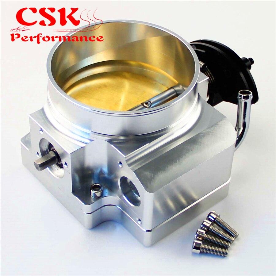 Throttle body for GM GEN III LS1 LS2 LS3 LS6 7 LSX 102mm manifold adapter plate