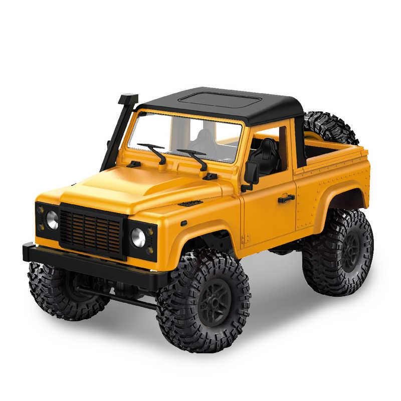 Mn Model D90 1:12 Skala RC Crawler Mobil 2.4G 4WD Truk Remote Control Mainan Belum Dirakit Kit MN-90K MN-91K Defender pickup