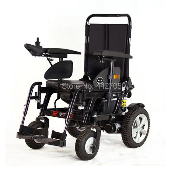 2019 Electric font b wheelchair b font with toilet is very convenient for the elderly and