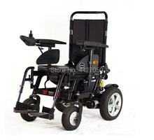 Elderly disabled wheel chair folding portable plating toilet wheelchair
