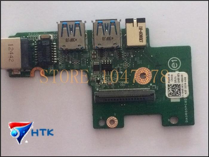 For DELL N411Z Laptop HRYKN 0HRYKN CN 0HRYKN LAN Ethernet Audio USB Port Board