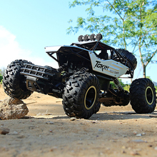 RC Car 1/12 4WD Rock Crawlers 4x4 Driving Car Double Motors Driving Bigfoot Car Remote Control Car Model off-Road Vehicle Toy r c car 2 4g 4ch 4wd 4x4 driving car monster truck off road vehicle remote control car model toys gift for children e