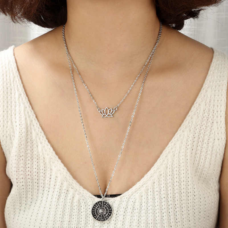 Thời trang Tassel Fringe Bohemian Necklace Với Sequins Chokers Tassel Dây Chuyền & Mặt Dây Dân Tộc Nữ Cổ Áo Đồ Trang Sức