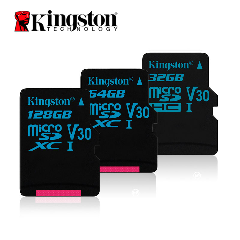 Kingston Micro SD Card 32gb 64gb 128gb Memory Card TF MicroSD Full HD 4K Action Camera Memoria Cards For Gopro Drone Smartphone