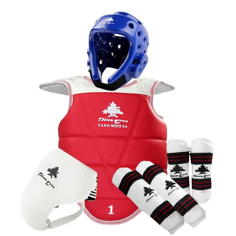 2016new MMA Taekwondo protectors Karate shin Guard arm protector helmet body chest protector groin crotch protective guards  цены