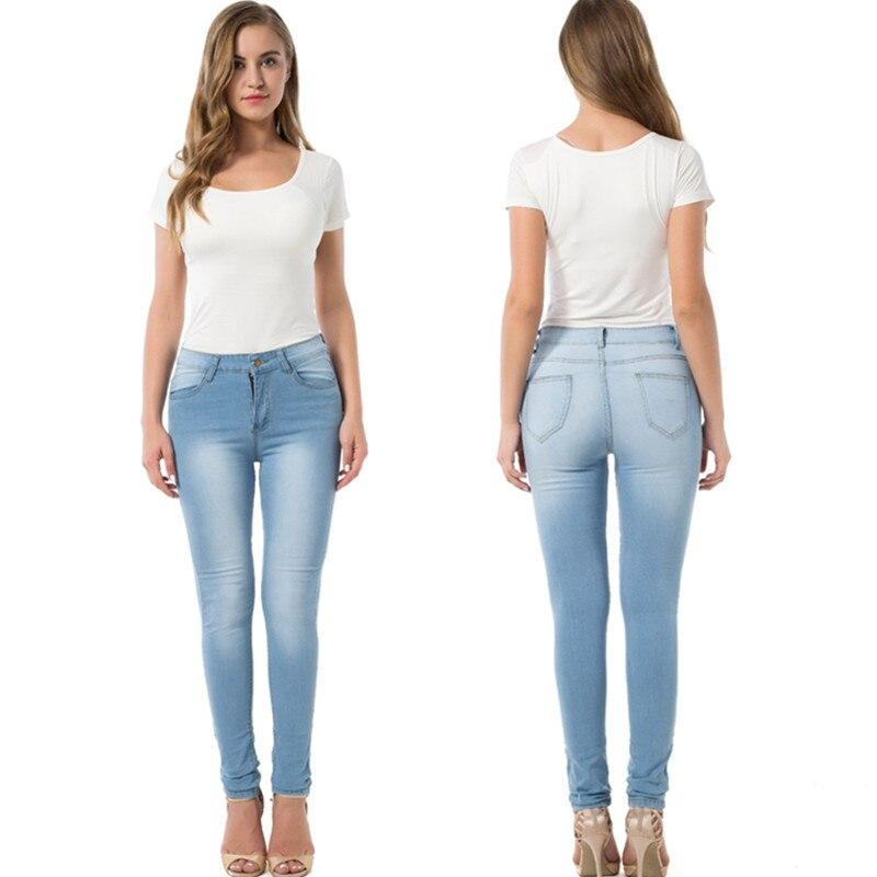 958353c99 2019 pantalones vaqueros de verano de mujer de moda Sexy de talla grande de  mezclilla pantalones rasgados de cintura alta de estiramiento de culo grande  de ...