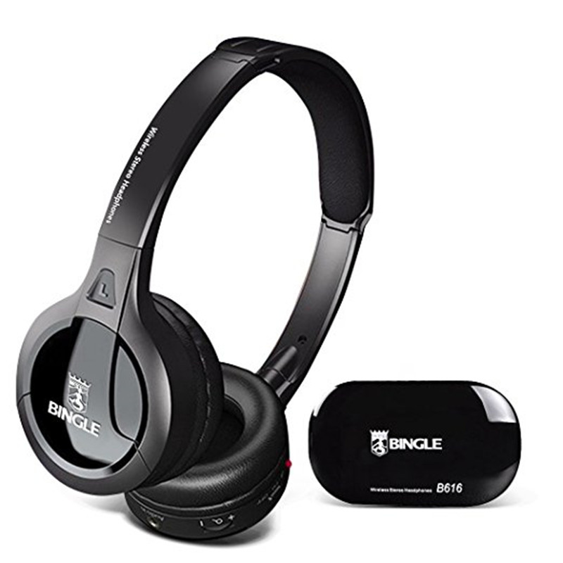 Computer TV Headphones ihens5 Multifunction stereo Wireless Headset Headphone with Mic FM Radio for MP3 PC Gamer TV Audio Phones цена