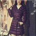 2016  winter jacket women brand long sleeve hooded Long warm coat D834