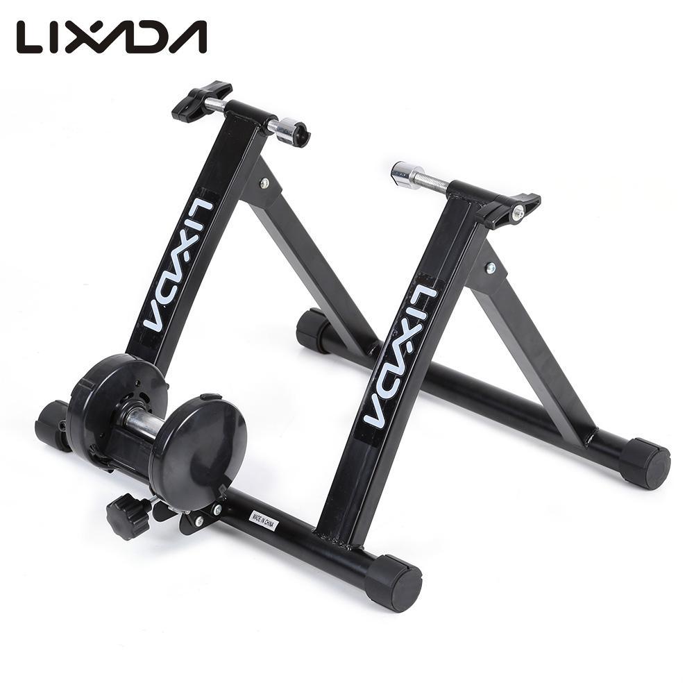 Lixada Magnetic Resist Bicycle Trainer Bike Stand Indoor