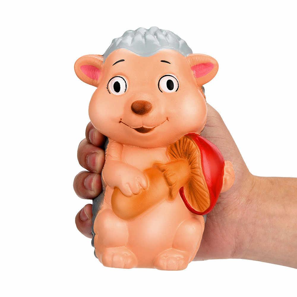 Relaxar brinquedos squish brinquedo squishies macio 16cm squishy jumbo ouriço scented charme lento subindo espremer stress reliever brinquedo d300213