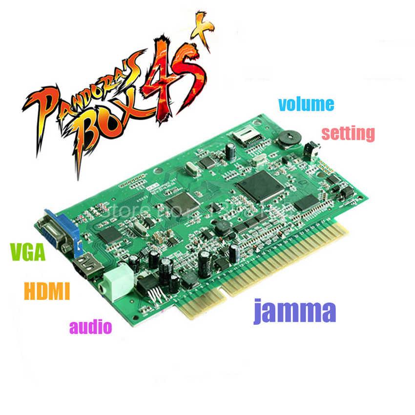 Kotak Pandora 4 S + Jamma VGA/CGA Output untuk LCD/CRT HD 815 Di 1 Jamma arcade Kabinet Mesin Kotak Pandora 4 Multi Arcade Papan