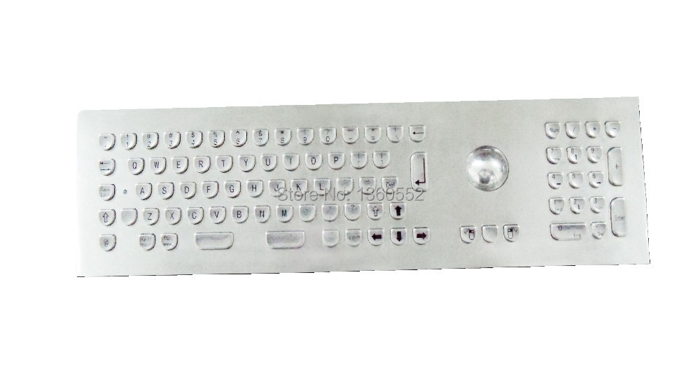 Keyboard Keycap-Shape Keypads Numeric with Trackball And Stainless-Steel