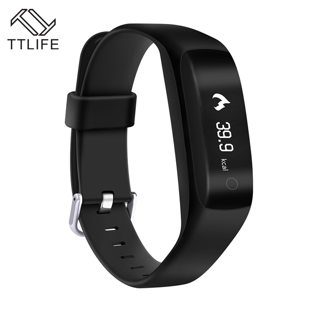 TTLIFE C5 GPS Smart Wristband Bluetooth 4.2 Smart Bracelet Heart Rate Moniter Fitness Tracker Smartband Watch VS mi band 2