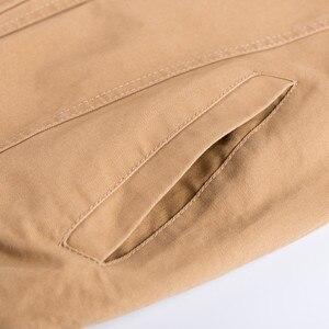 Image 5 - KOSMO MASA Bomber Jacket Men Autumn Winter 2018 Military Mens Jackets And Coats Black Windbreaker Jacket for Men Outwear MJ0074