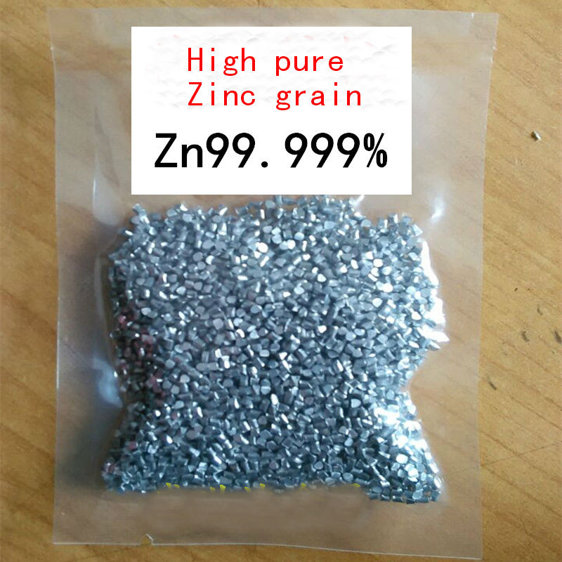 100g High purity zinc granule 99.99 % for Scientific research tungsten sheet plate for scientific research and experiment high purity