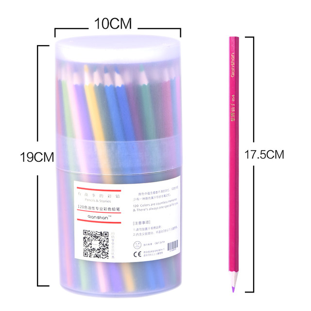 Tienda Online 120 unids/set Color Dibujo A Lápiz Materiales de Arte ...