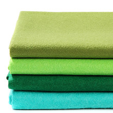 90X92CM Green Series DIY Soft Non-Woven Felt Fabric 1.4MM Thickness For Home Decoration Needlework Handmade Sewing Crafts