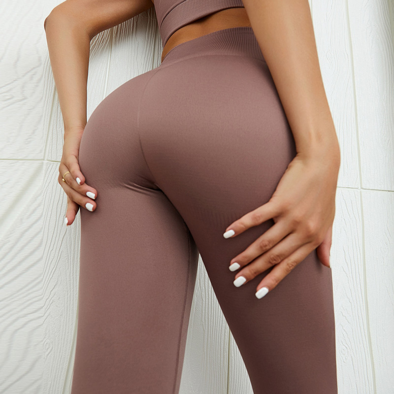High waist seamless leggings solid yoga legging workout gym leggings fitness sport legging fitness yoga pants sportswear 1