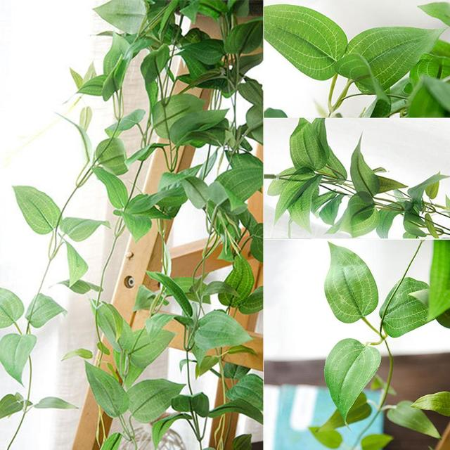 Artificial Flower Wall Hanging Indoor Simulation Plant Vine Small