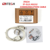 IT E121/E123 RS232 Communication Cable For Electronic Loads and DC Power Supply and IT E122 USB Communication Cable