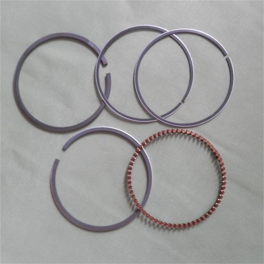 64MM PISTON RING SET FITS HONDA GCV160 4 STROKE FOR CYLINDER KOBLEN RINGS MOWER RELACEMENT PARTS quanchai qc4102t52 parts the set of piston and piston rings part number 4102qa 03001
