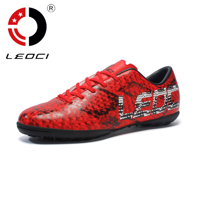 Homens Sapatos de Futebol TF Turf Futebol Botas Chuteiras Interior Futsal  Quadra Dura Trainer Chuteira Futsal 76d69ef2b08c4