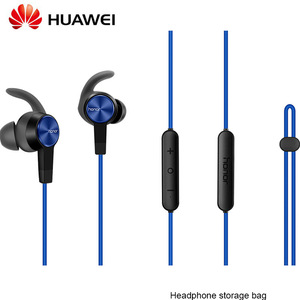 Image 2 - Originele Huawei Honor xsport AM61 Oortelefoon Bluetooth draadloze met Mic Volumeregeling Luidspreker In Ear headset voor iOS Android