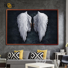 NOOG Picture Wall Art Canvas Painting Wing Posters And Prints The Abstract Home Decoration Print On
