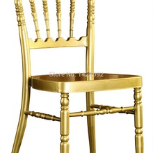 Оптовое качество крепкое Золотое кресло алюминиевое Наполеон