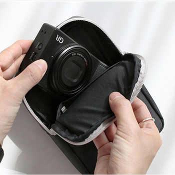 40PCS / LOT Unisex Travel Bags Organizer Bag Portable digital cable bag Electronics Accessories Storage Pouch for Power Bank