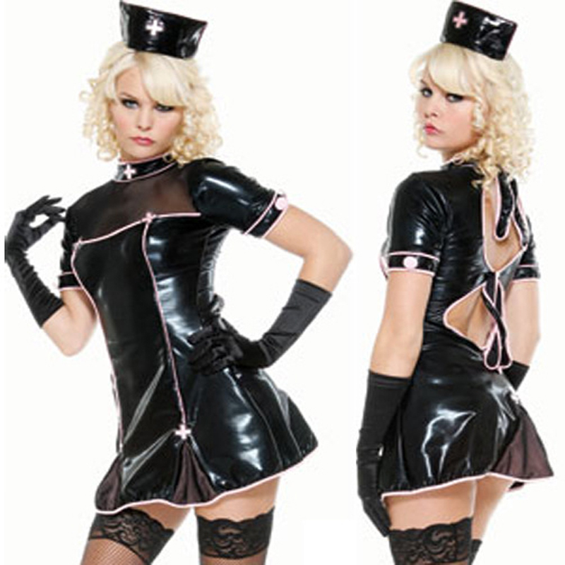 Black latex nurse