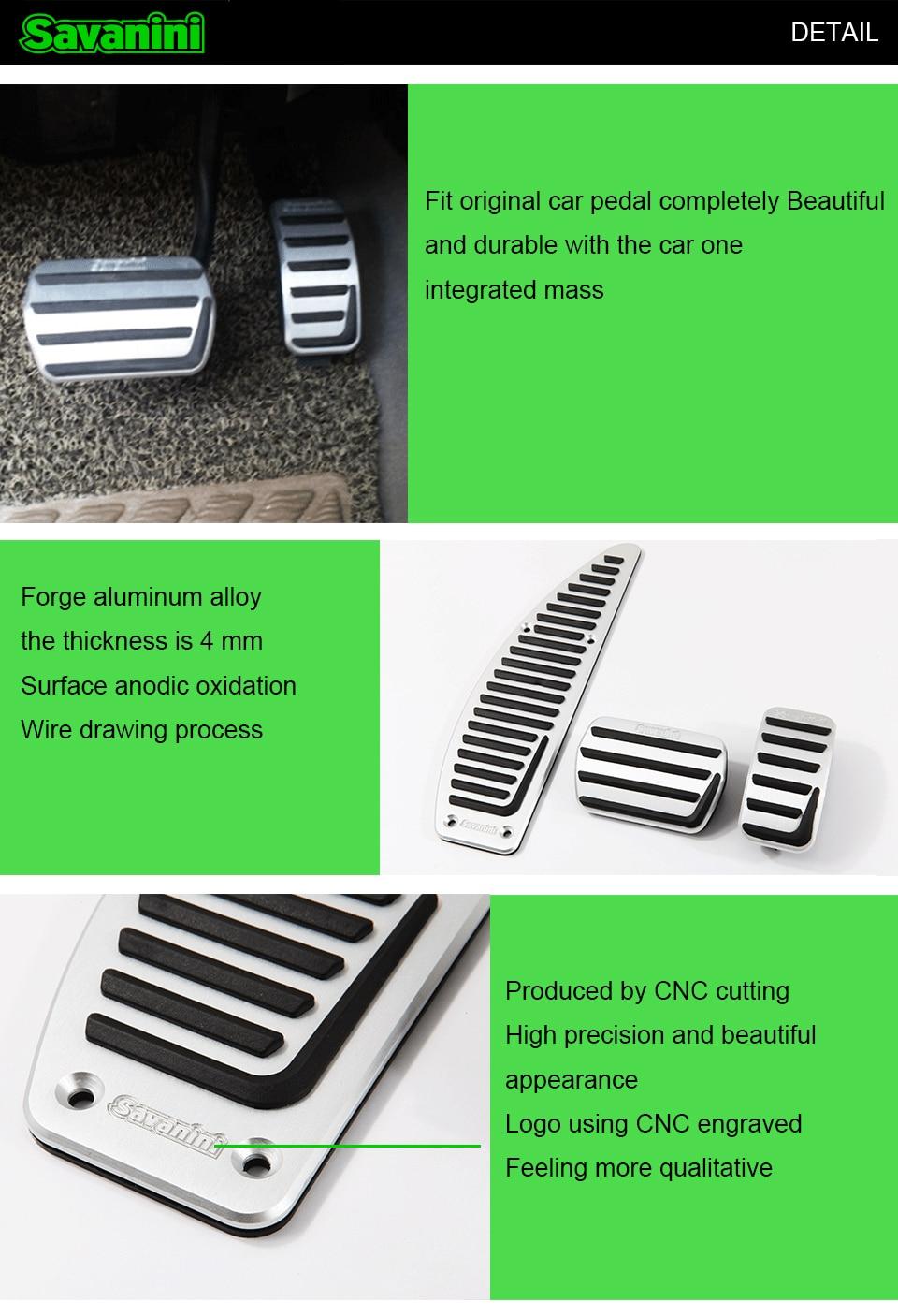 Подставка для ног автомобиля, педаль газа, педаль акселератора, Накладка для Volvo V40 S40 C30, автомобильные автомобили, без бурения, алюминиевый сплав, Стайлинг, нескользящая