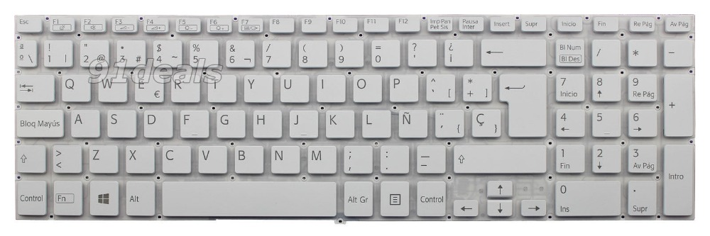 New notebook Laptop keyboard for   Sony AEHK0P010203A V141706BK1 149239971ES  SP  layout for sony vpceh35yc b vpceh35yc p vpceh35yc w laptop keyboard