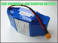 High Quality 36V 4.4AH 4400MAH Dynamic Rechargeable Li ion Battery Packs for Electric Scooters Batteries