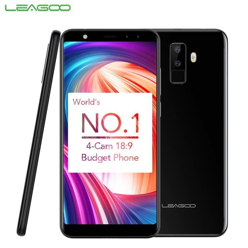 Original LEAGOO M9 Cell Phone 5 5 inch 18 9 Full Screen 2GB RAM 16GB ROM
