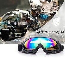 цена на Outdoor protective goggles X400 cross-country ski goggles glasses goggles outdoor wind cycling goggles glasses helmet