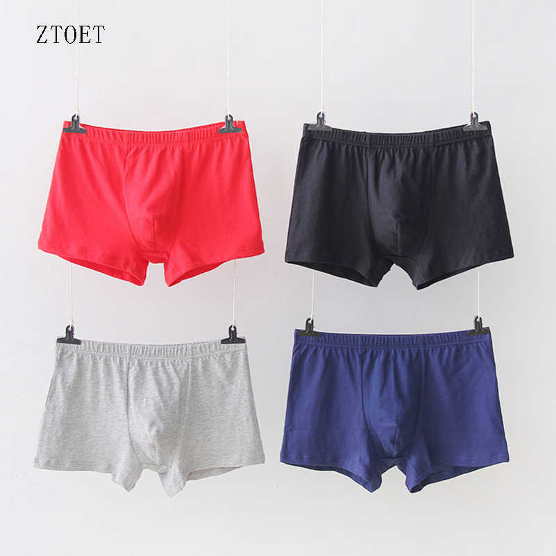 2f6ba14ae1f0 5 Pcs/Lot Men Underwear High Quality Boxer Shorts Large Size Sexy Soft Cotton  Shorts
