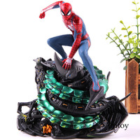 Spider man PS4 Spiderman Statue Figure Action Spider man Model Collectible Toy on playstaion