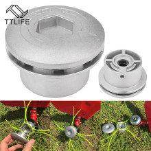 TTLIFE Lawn Mower Trimmer Head Grass Universal Trimmer Head Feed Line Brushcutter Garden Grass Strimmer Brush Cutter Garden Tool