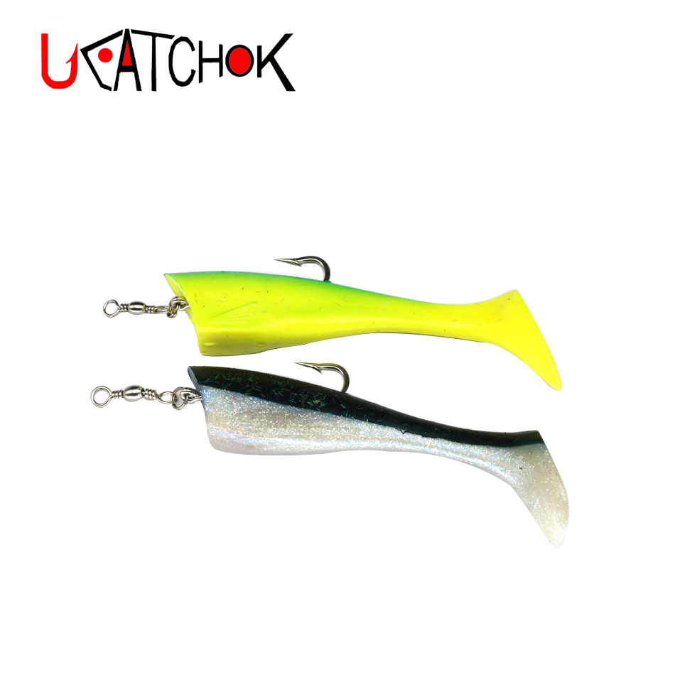 1pcs pack big artificial soft fish 65g 95g boat trolling lure bait deep sea tuna drag flying fish big game large lure sea bait in Fishing Lures from Sports Entertainment
