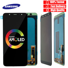 SUPER AMOLED LCD For Samsung Galaxy A6 2018 Display A600F Touch Screen Digitizer Panel Assembly A6 Plus A6050 LCD A6050F Display(China)