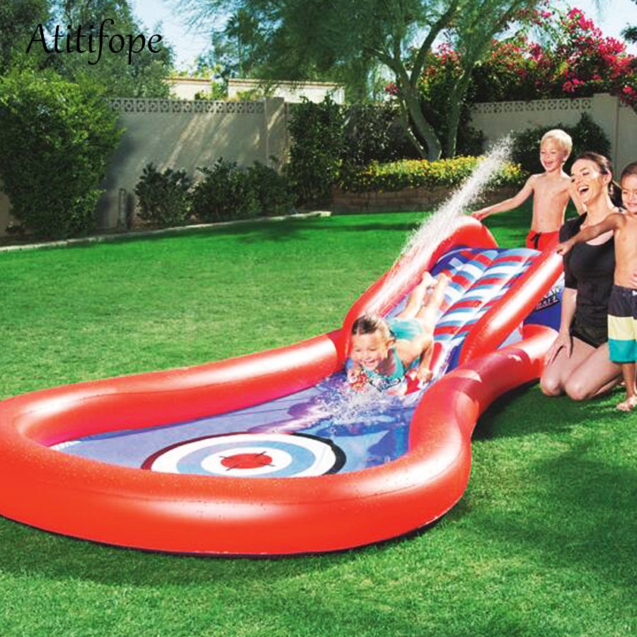 Water Play Slide Baby Inflatable Pool Kids Summer Pool Multi Purpose Inflatable Play Best Family Inflatable Pool