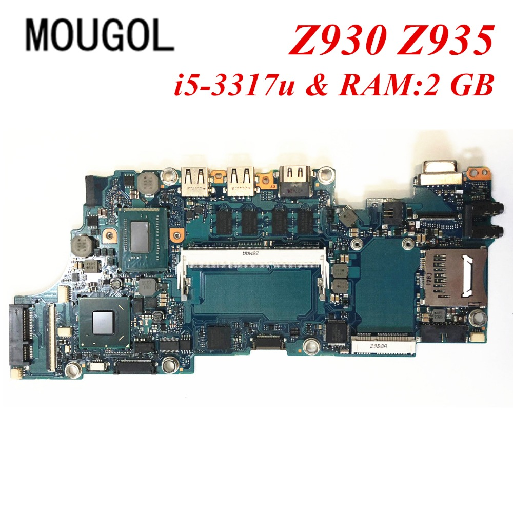 Mougol A Quality Mainboard For Toshiba Z930 Z935 Laptop Motherboard Flash Disk 2 Gb Fau2sy1 A3267a I5 3317u Ram2gb 100 Tested In Motherboards From Computer Office On